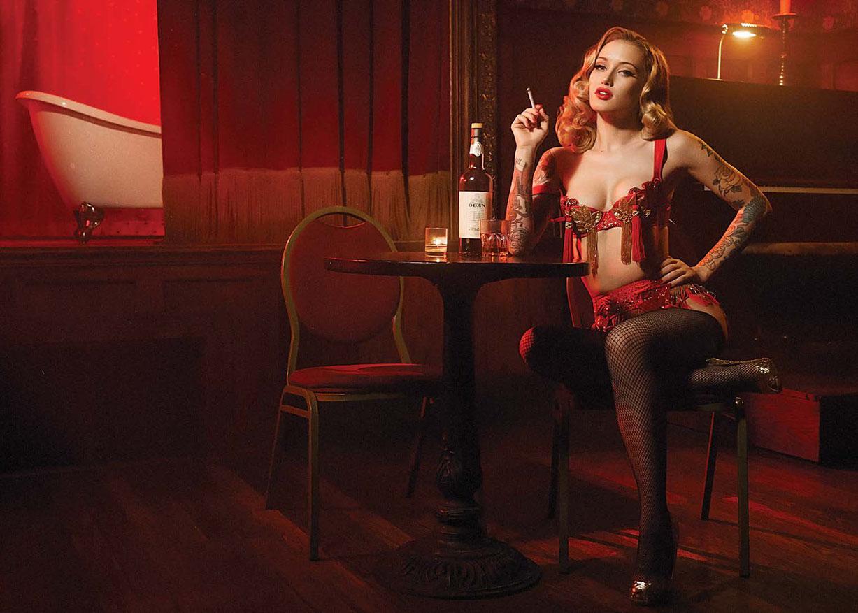 Эмили Шеппард / Emily Shephard by Dale May - Inked february 2017