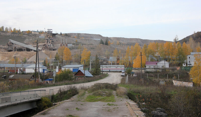 Здания на станции Биянка
