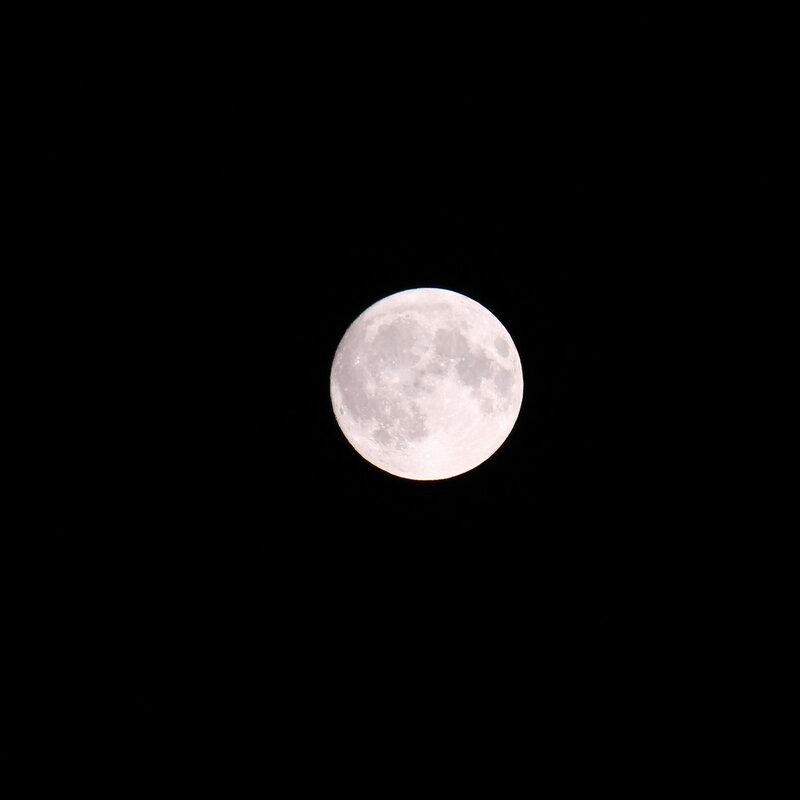 Луна над станцией Идрица, Рижское направление