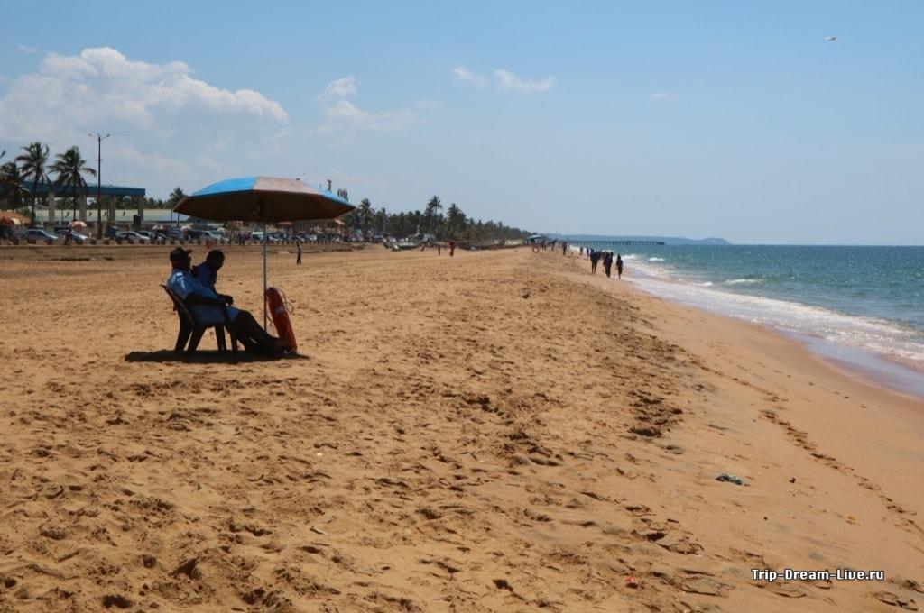 Пляж Тривандрама