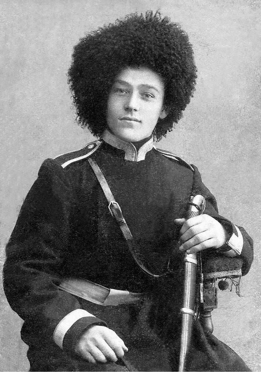 1918. Николай Дмитриевич Каширин (1888–1838) — командир красного партизанского отряда. Верхнеуральск