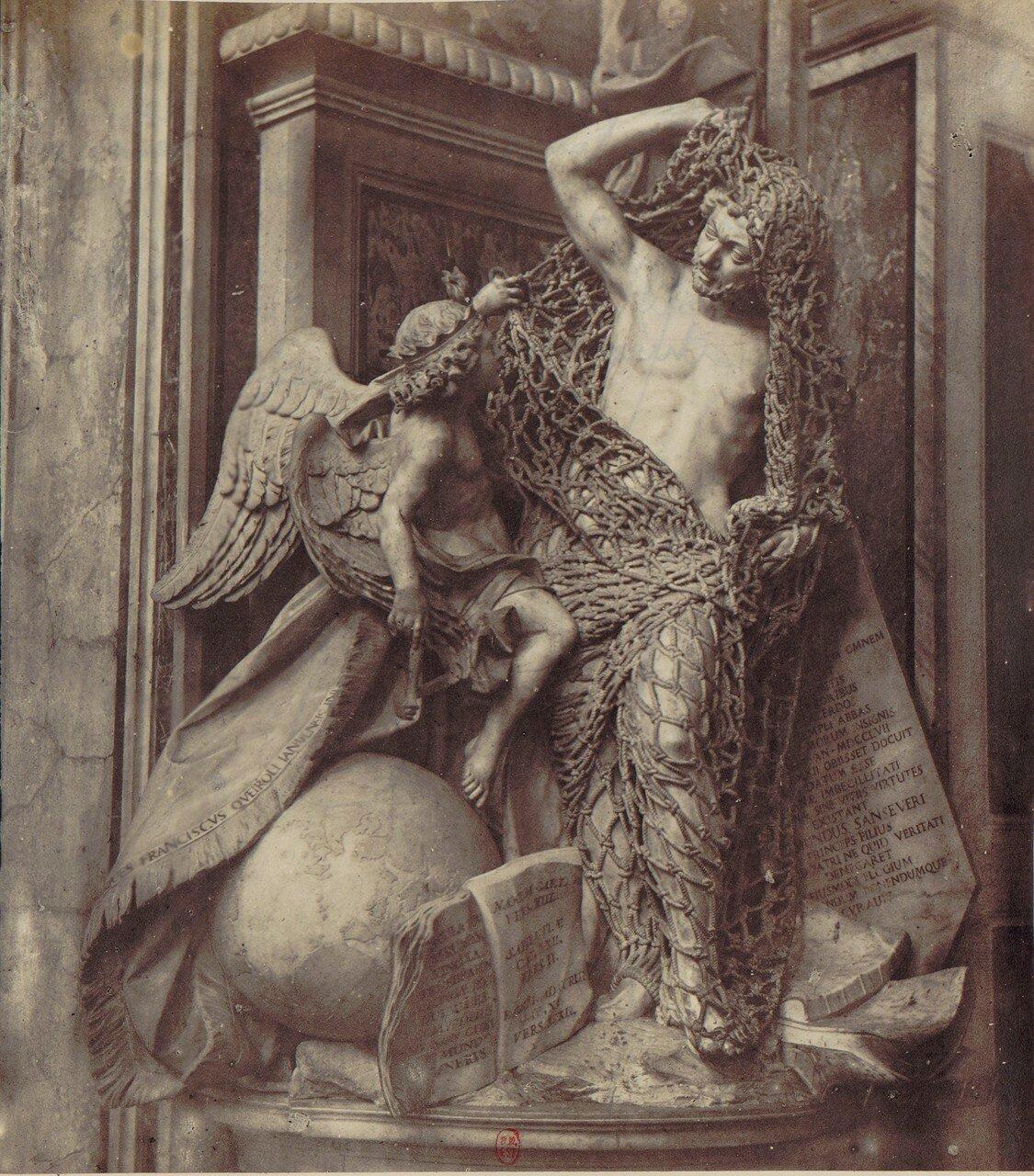 17. Капелла Сан-Северо. Скульптура «Избавление от чар»