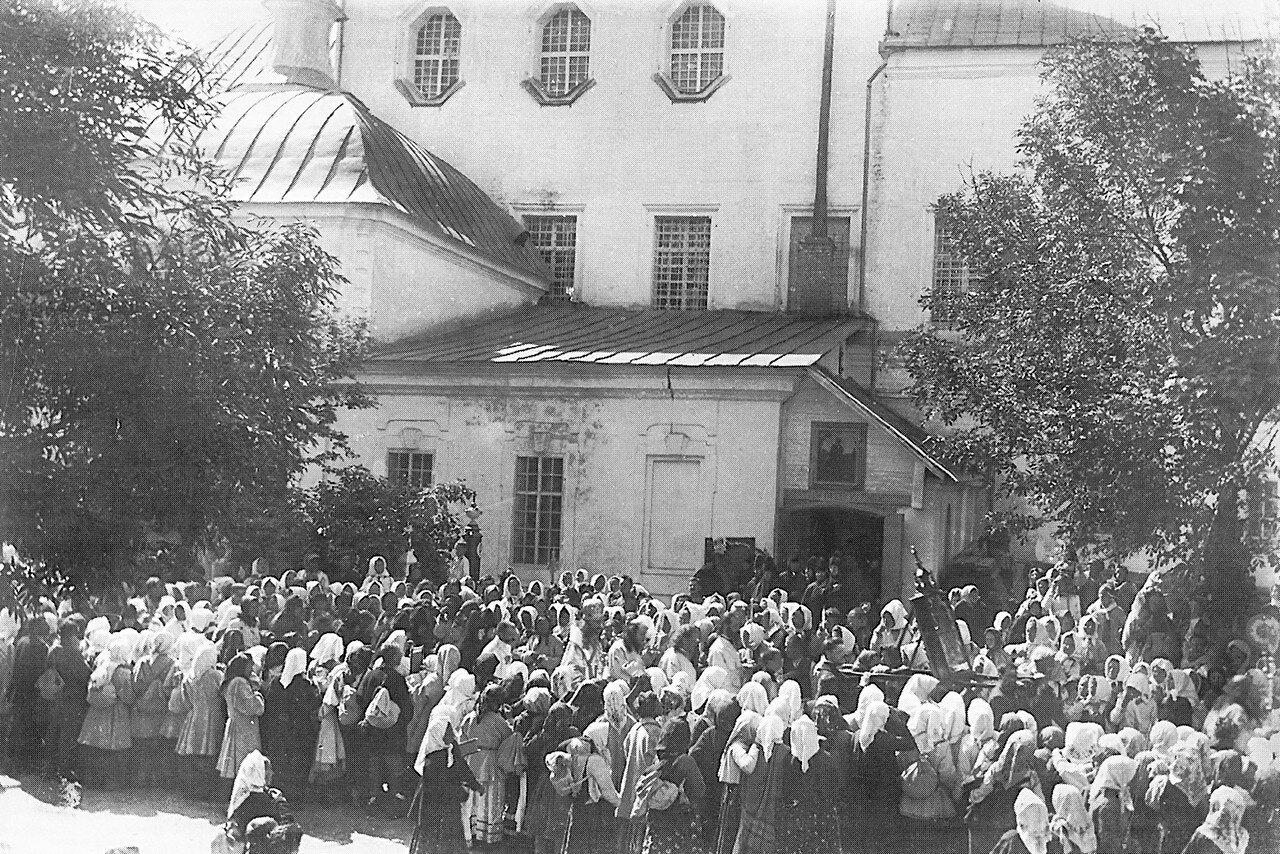 Праздник Вознесения Господня в Вознесенском монастыре. 1900-е