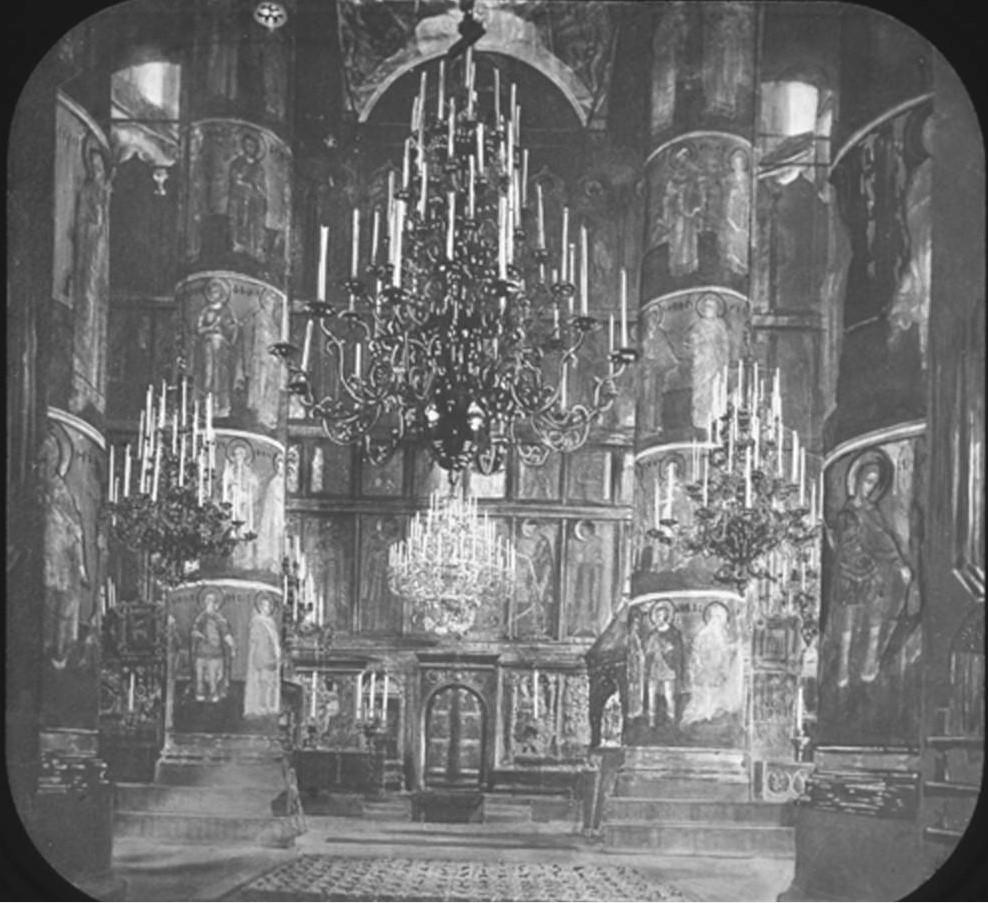 Москва. Успенский собор. Интерьер