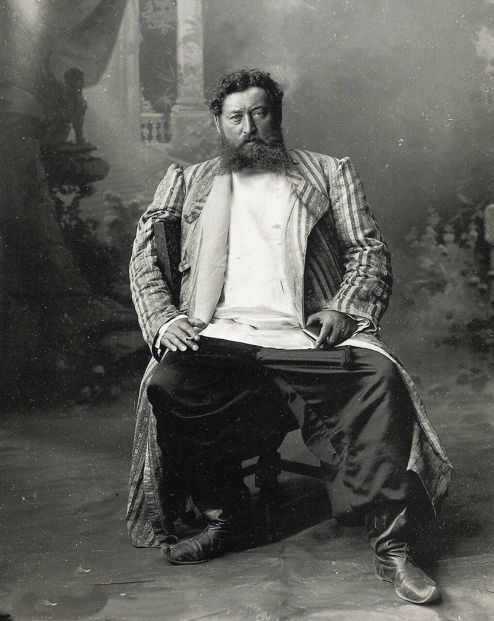 1890-е. Нижний Новгород. Поставщик шпал для железной дороги Ознобишин