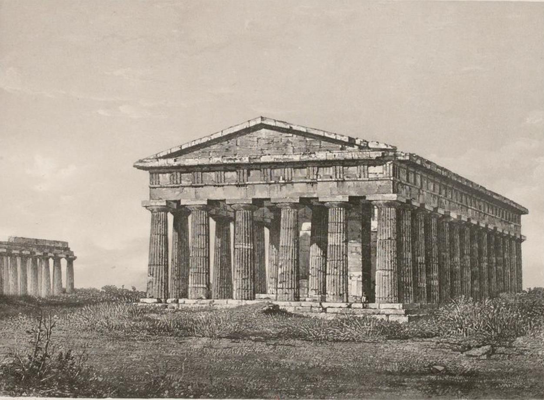Италия. Пестум. Храм Геры-II