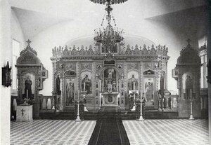 Внутренний вид Ольгинской церкви реального училища