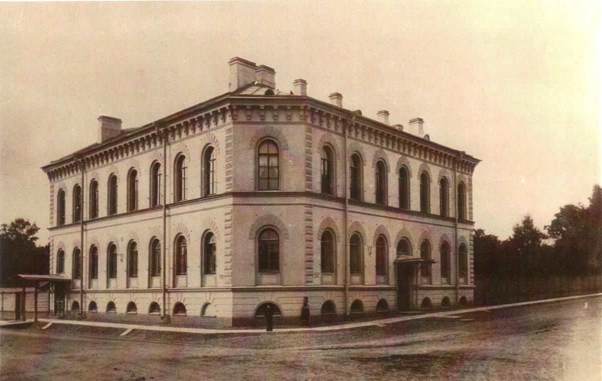 Здание Дворцового управления на Люцевской улице