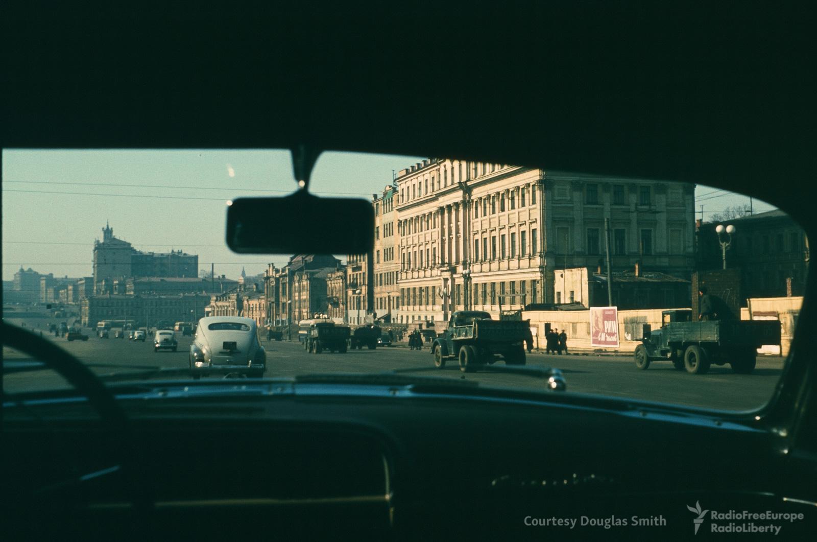 Вид из машины