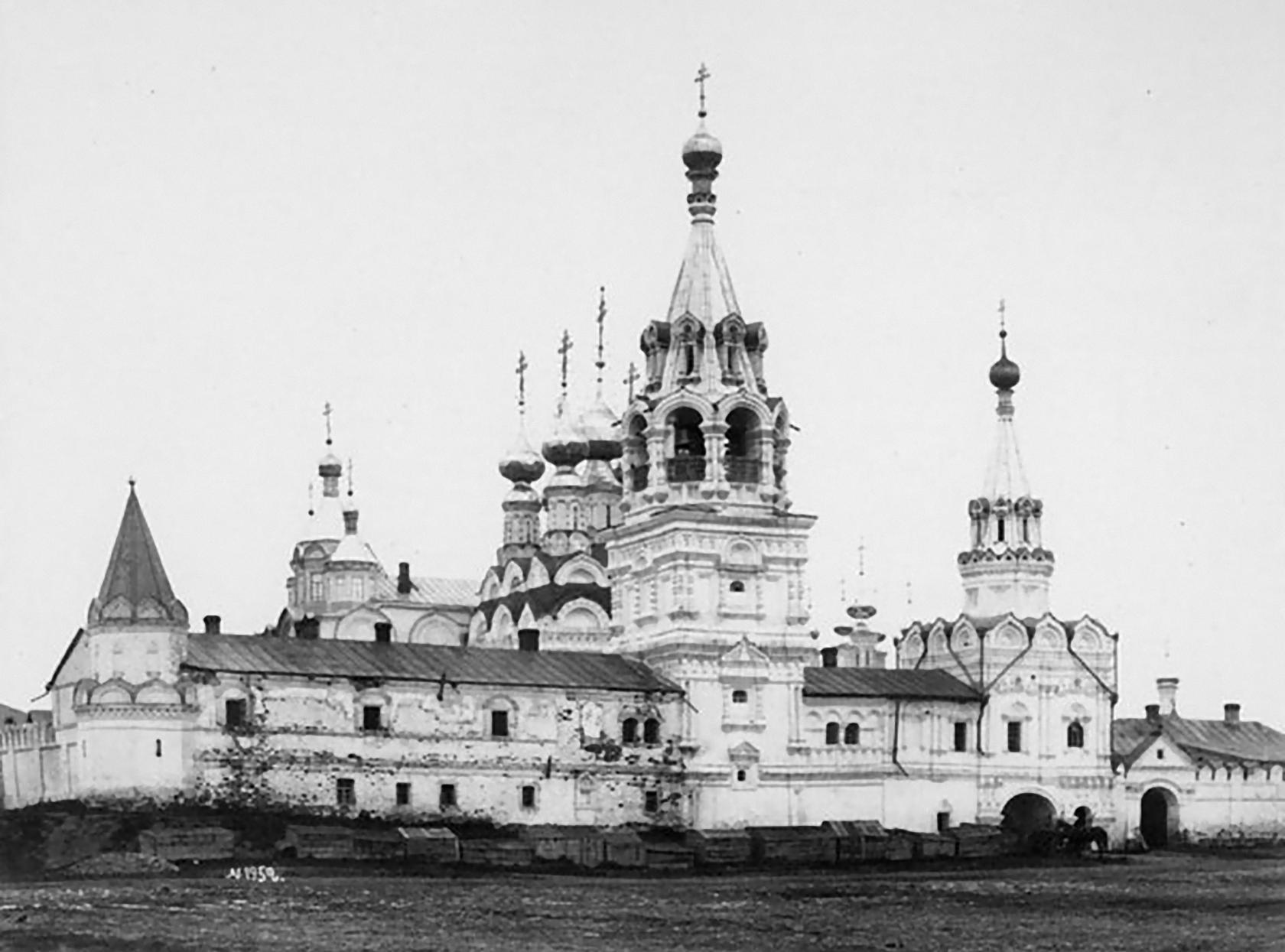 Свято-Троицкий женский монастырь.  Иван Фёдорович Барщевский. 1889