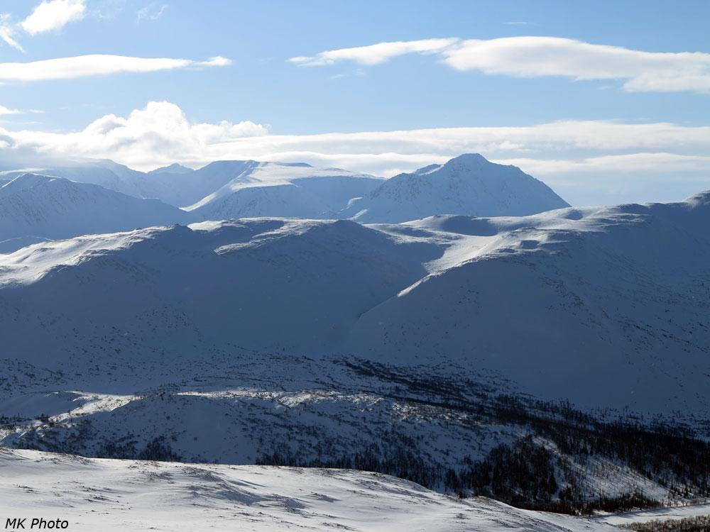 Вершины Полярного Урала