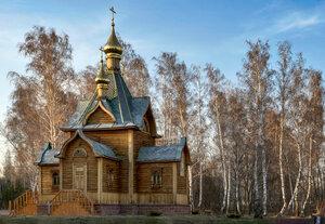 Храм Иоанна Предтечи, Ачаирский Женский Монастырь, Омск