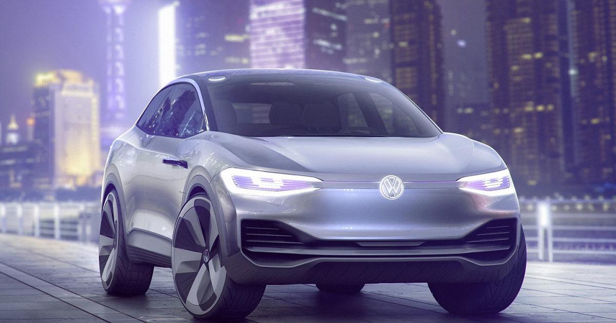 ВШанхае представили купеобразный кроссовер Volkswagen I. D. Crozz