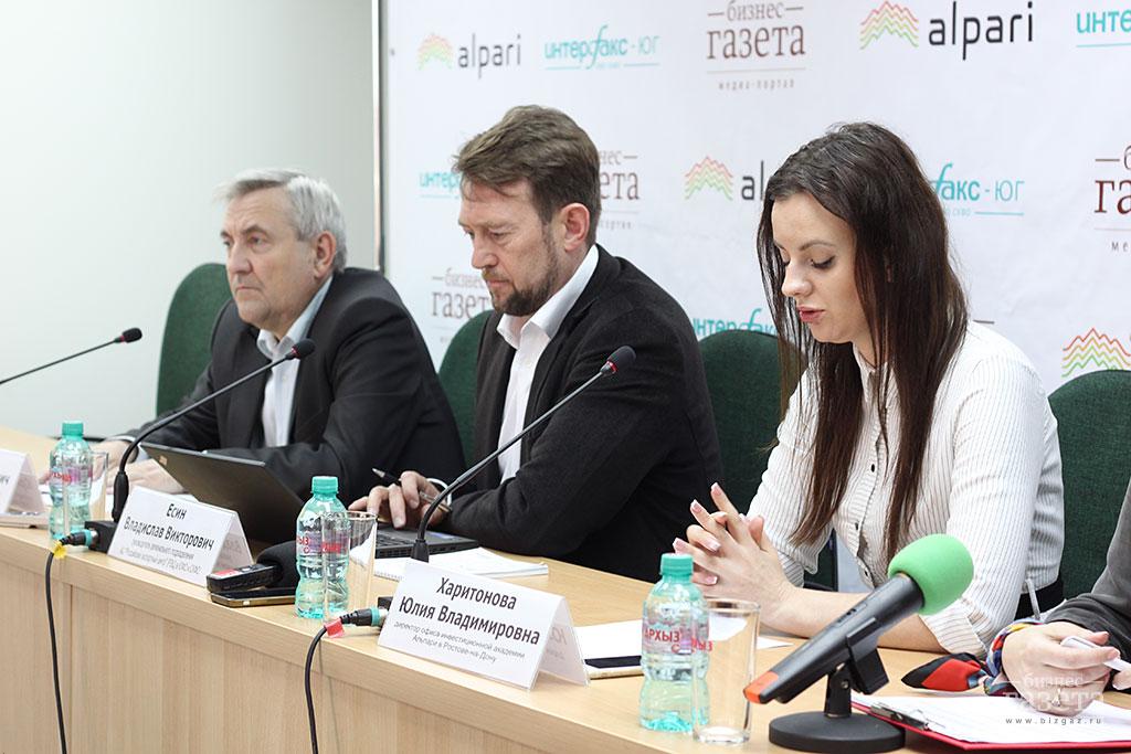 Фоторепортаж: Пресс-конференция «Курс рубля и потребительские цены. Чего ждать жителям Дона в свете новой внешнеполитической ситуации»