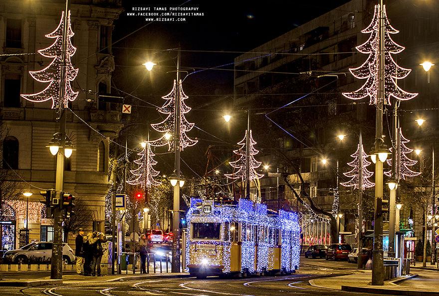 Магические фотографии Будапешта перед Рождеством