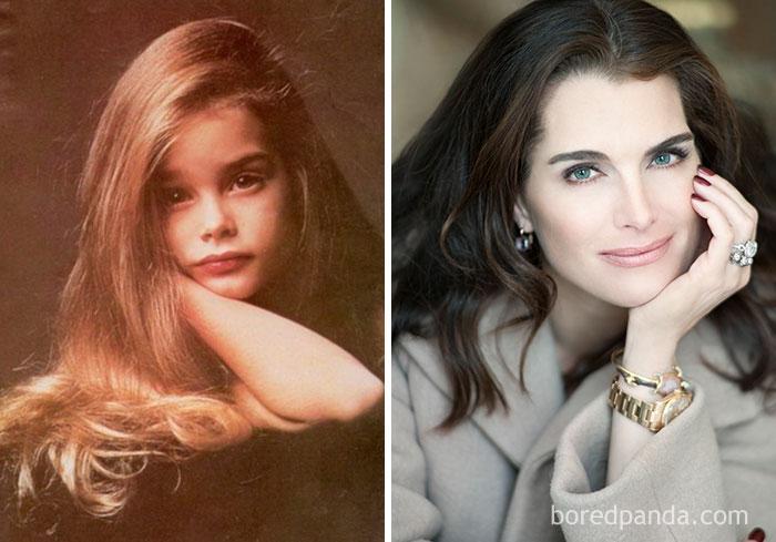 Актриса и модель Брук Шилдс.