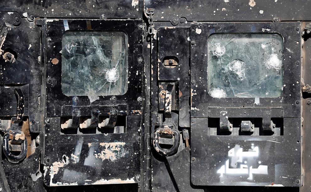 6. А вот и сами иракские спецназовцы. (Фото Goran Tomasevic | Reuters):