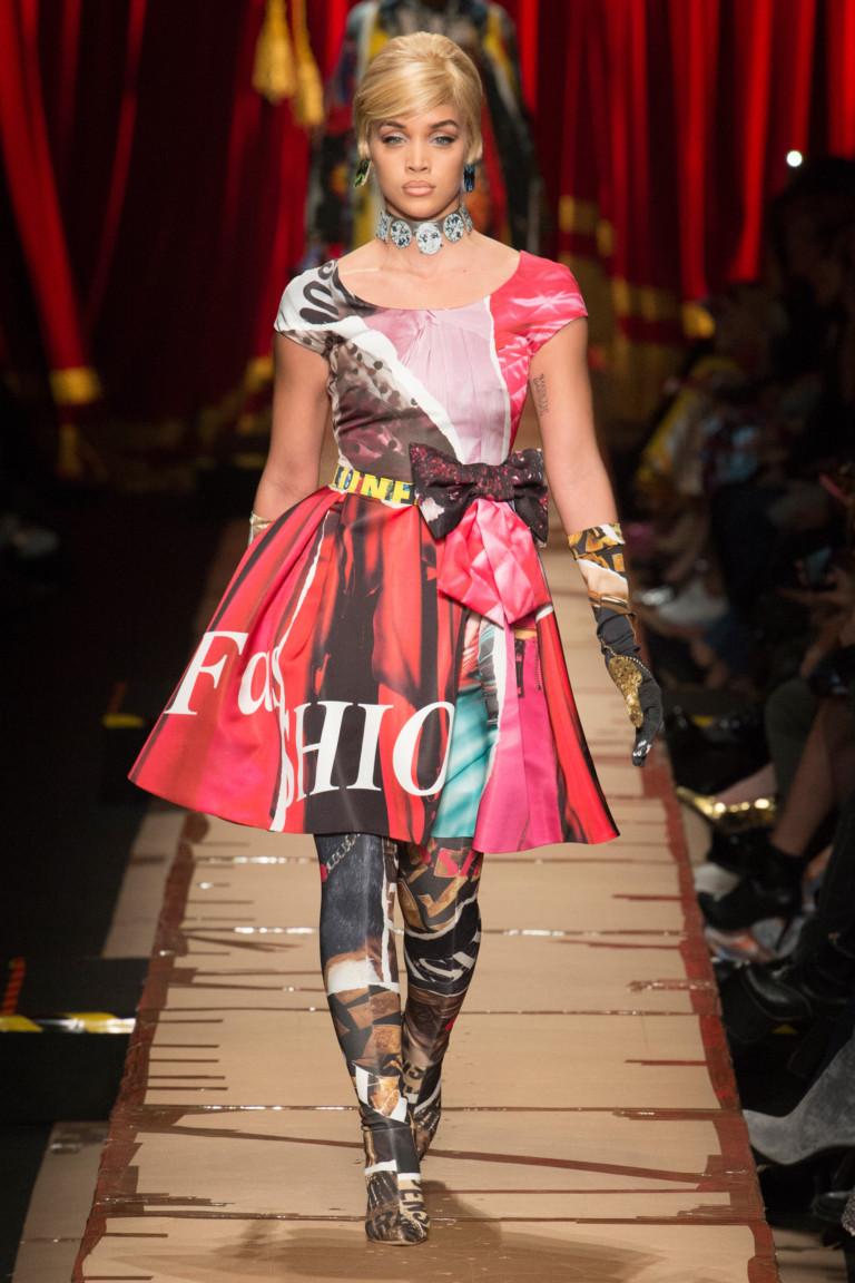 Неделя моды в Милане: Moschino осень 2017