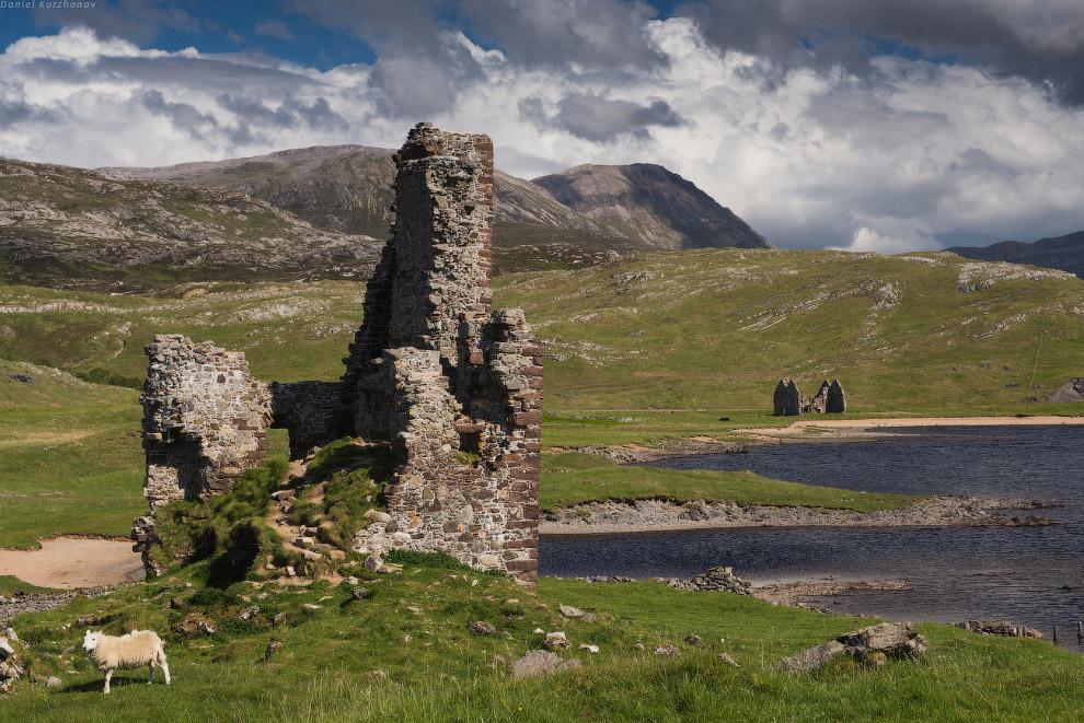 А заканчивает этот нехитрый шорт-лист замков Севера Urquart — замок, который вовсе меня не впеч