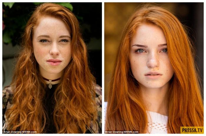 Кармен из Голландии (справа) и Алина из Одессы (слева).