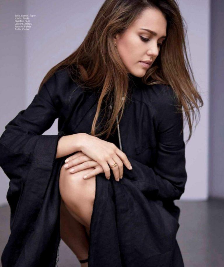 Джессика Альба в Harper's Bazaar Mexico