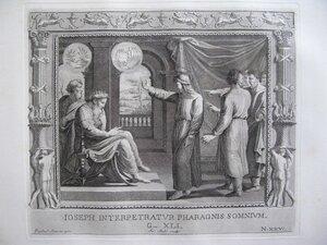 Иосиф толкует сны фараону (Бытие, LXI, 14-36)