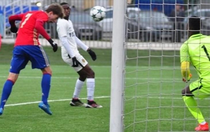 Футболисты ЦСКА победили «Русенборг» ивышли в ¼ финала юношеской Лиги УЕФА
