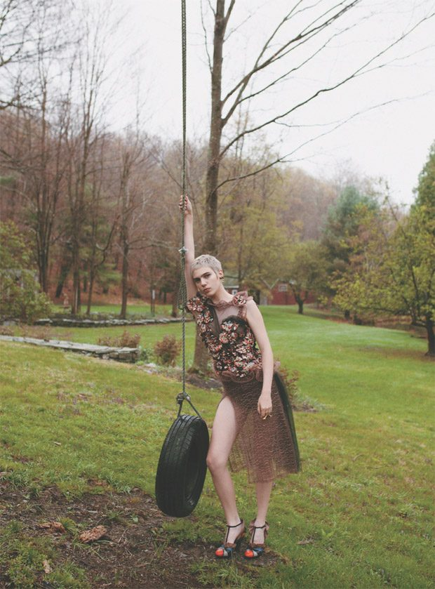 For more log on to oddamagazine.com Related Post Transgression by Enokae for Wylde Magdalena Frackow