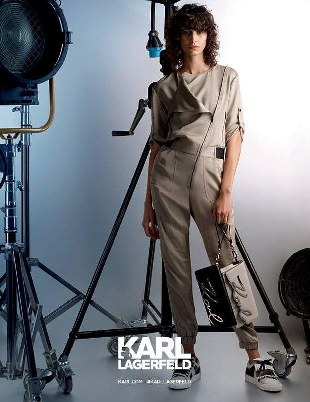Josephine Skriver, Mica Arganaraz & Baptiste Giabiconi Star in Karl Lagerfeld SS17 Ads