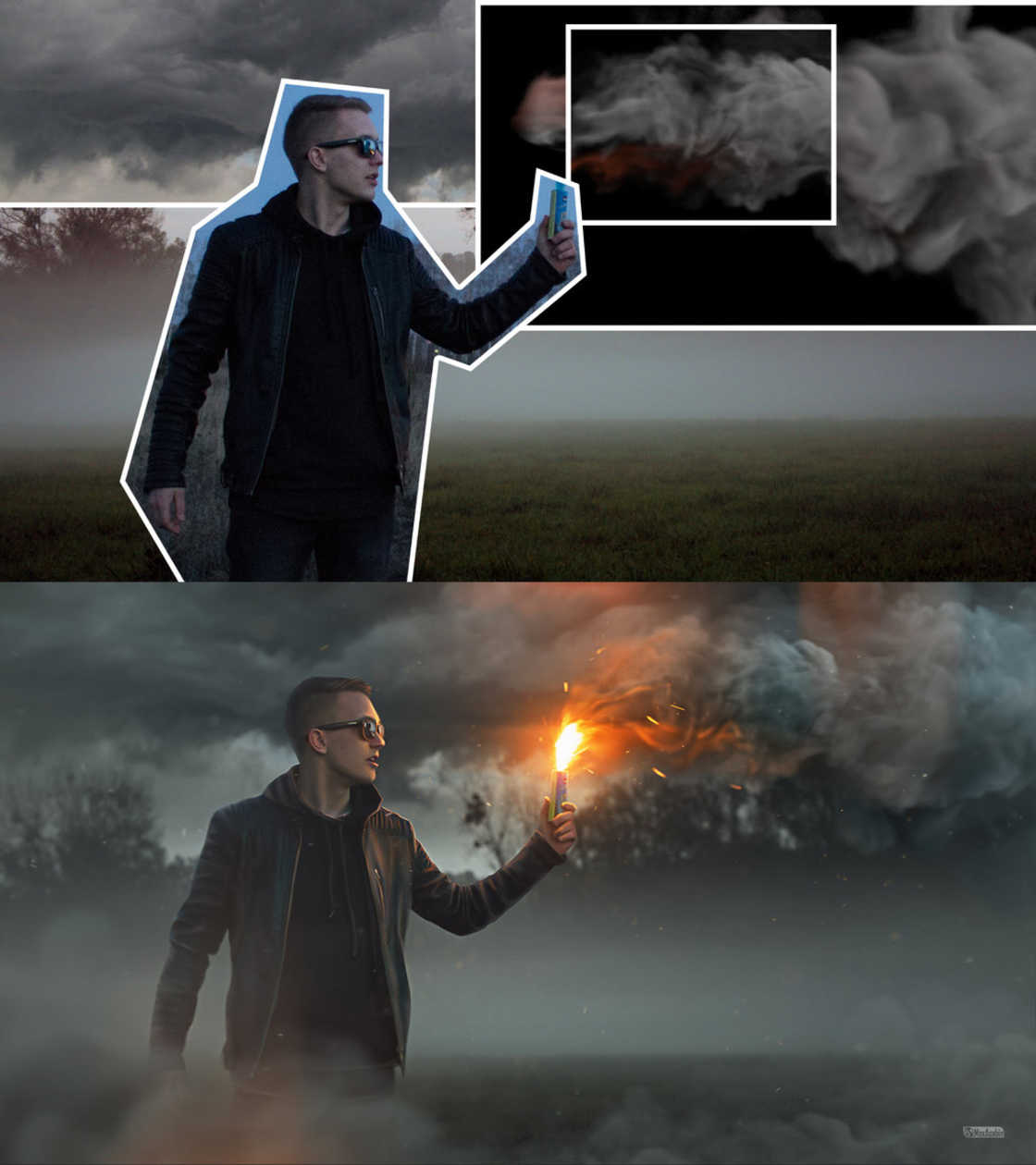 When a retoucher reveals his impressive skills on Photoshop