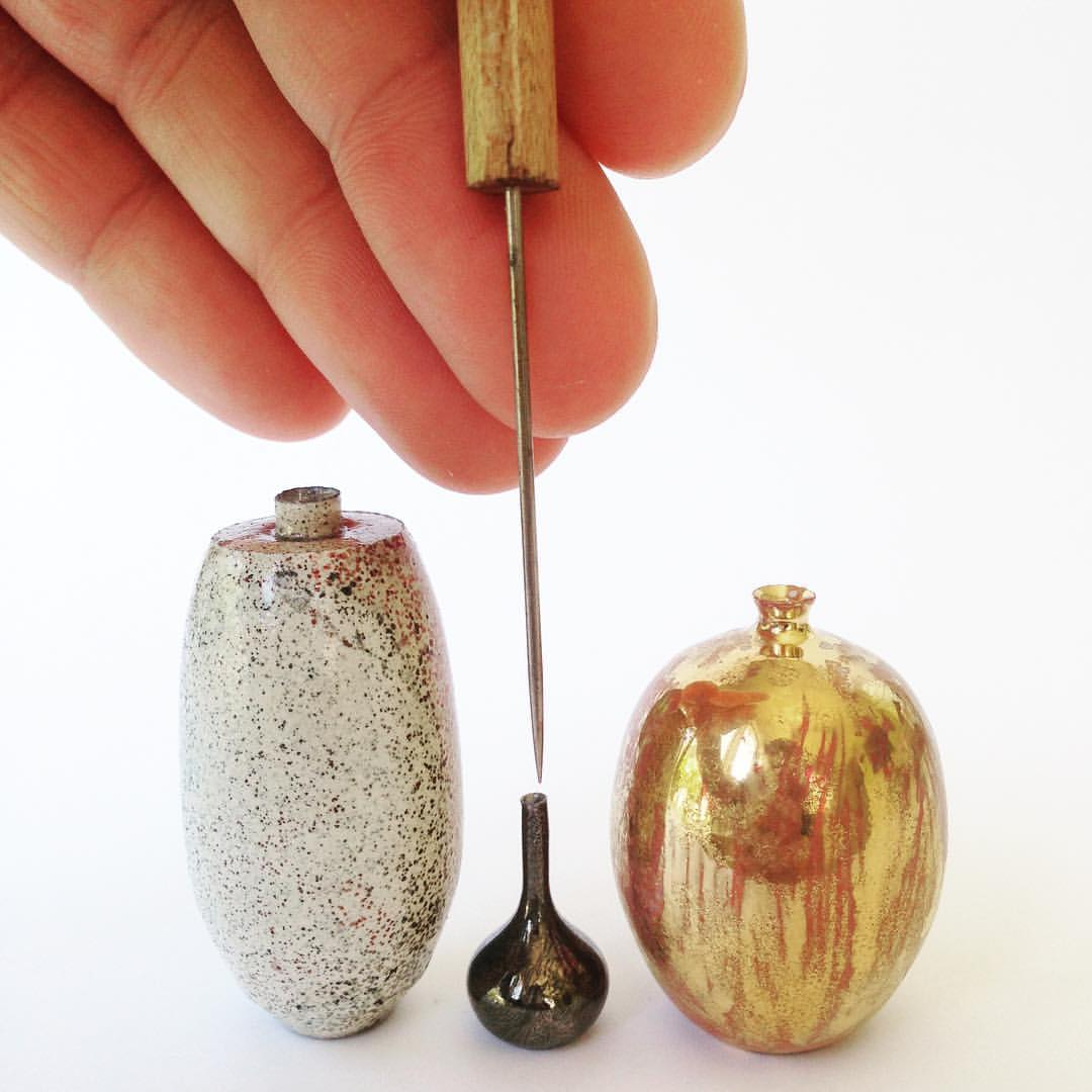 New Miniature Hand-Thrown Ceramics and Equipment by Jon Almeda