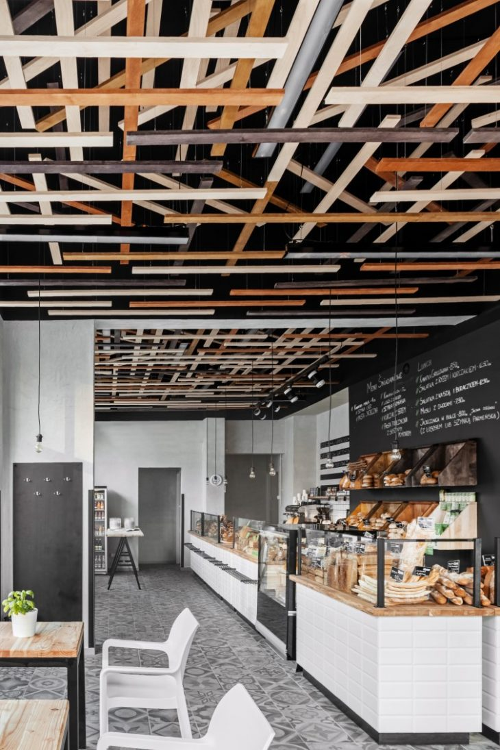 Przystanek Piekarnia Bakery by Five Cell Design Group