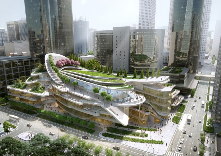 China World Trade Center Phase 3C by Andrew Bromberg at Aedas