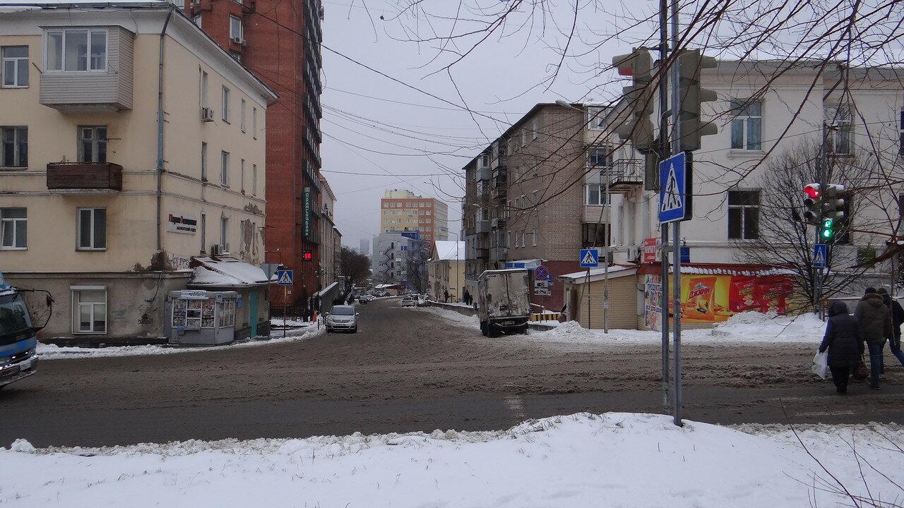 Владивосток. Стрельникова и Казанская.