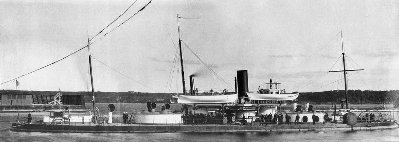 Twin turret armoured boat Charodeika.jpg