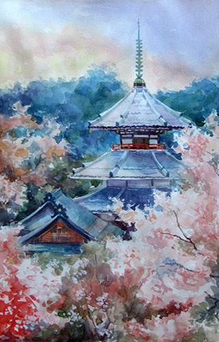 kartina-akvarelju-japonskij-pejzazh-zakieva-kristina.jpg