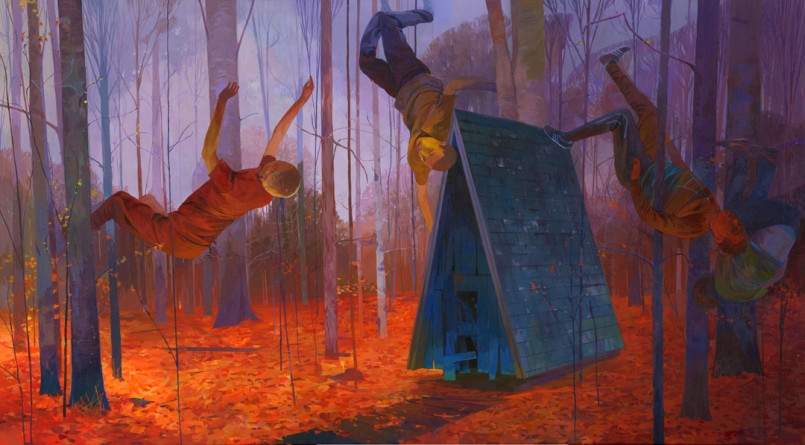Unknown Terrain: Paintings by Andrew Hem