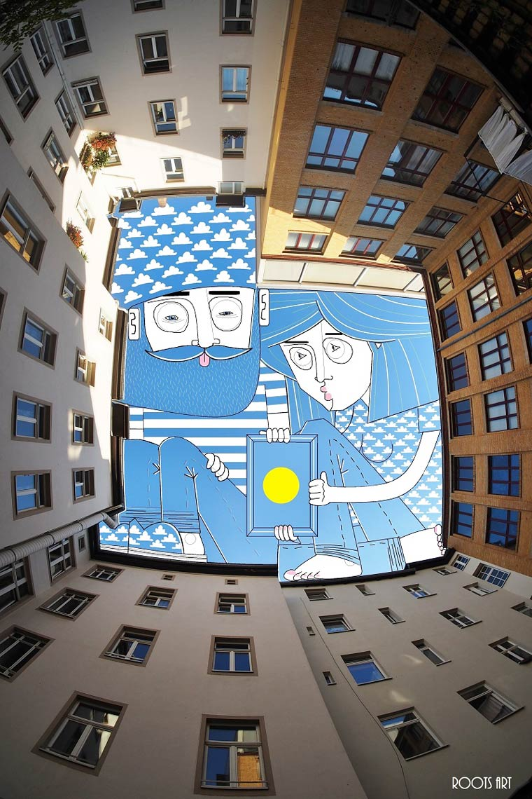 Using the sky as a canvas - The latest creations of Thomas Lamadieu