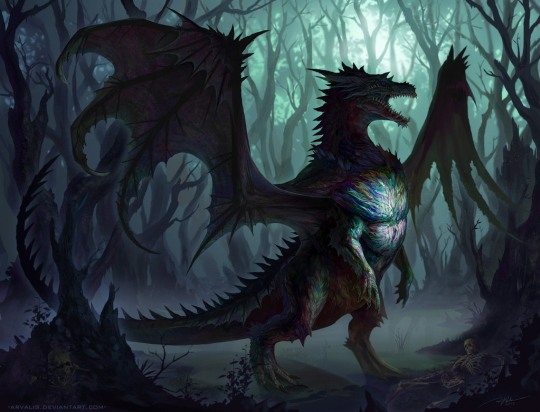 Must-see Fantasy Illustrations by Arvalis