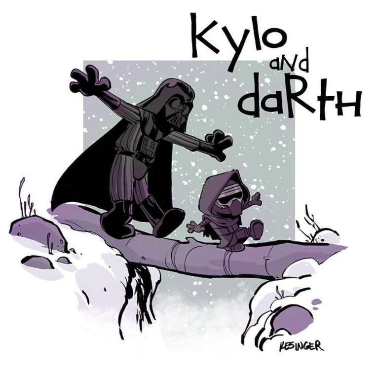 Quand Star Wars rencontre Calvin et Hobbes