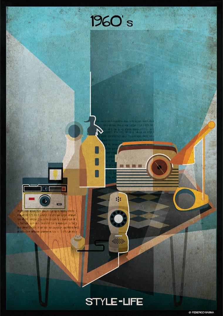 Style Life - L'evolution des objets du quotidien des annees 1910 a 2010