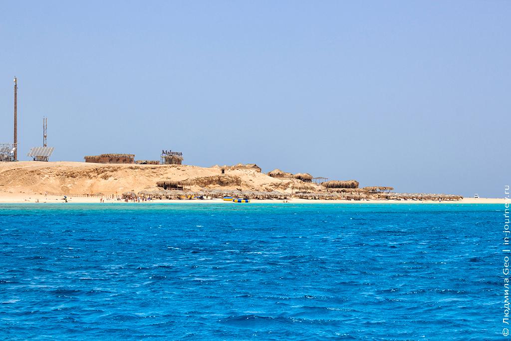 райский остров египет
