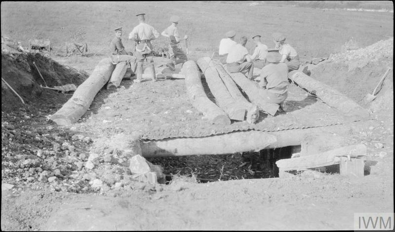 LIEUTENANT HERBERT PRESTON'S SERVICE WITH 120TH FIELD BATTERY, ROYAL FIELD ARTILLERY, DURING 1915
