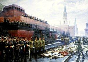 Районные депутаты Забайкалья требуют не драпировать 9 Мая Мавзолей В.И.Ленина
