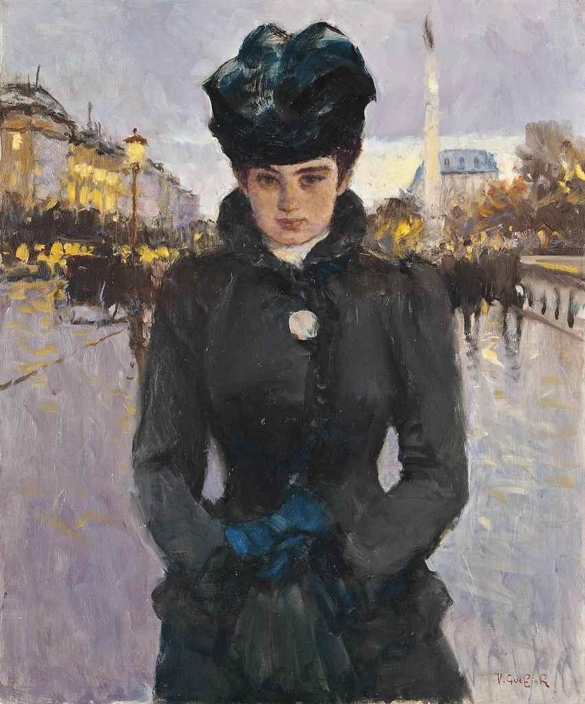 Une élégante, Paris.Jpeg
