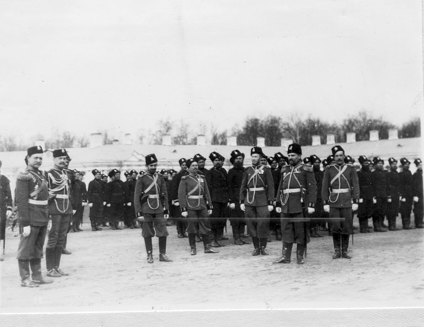 1903. Парад в Царском селе