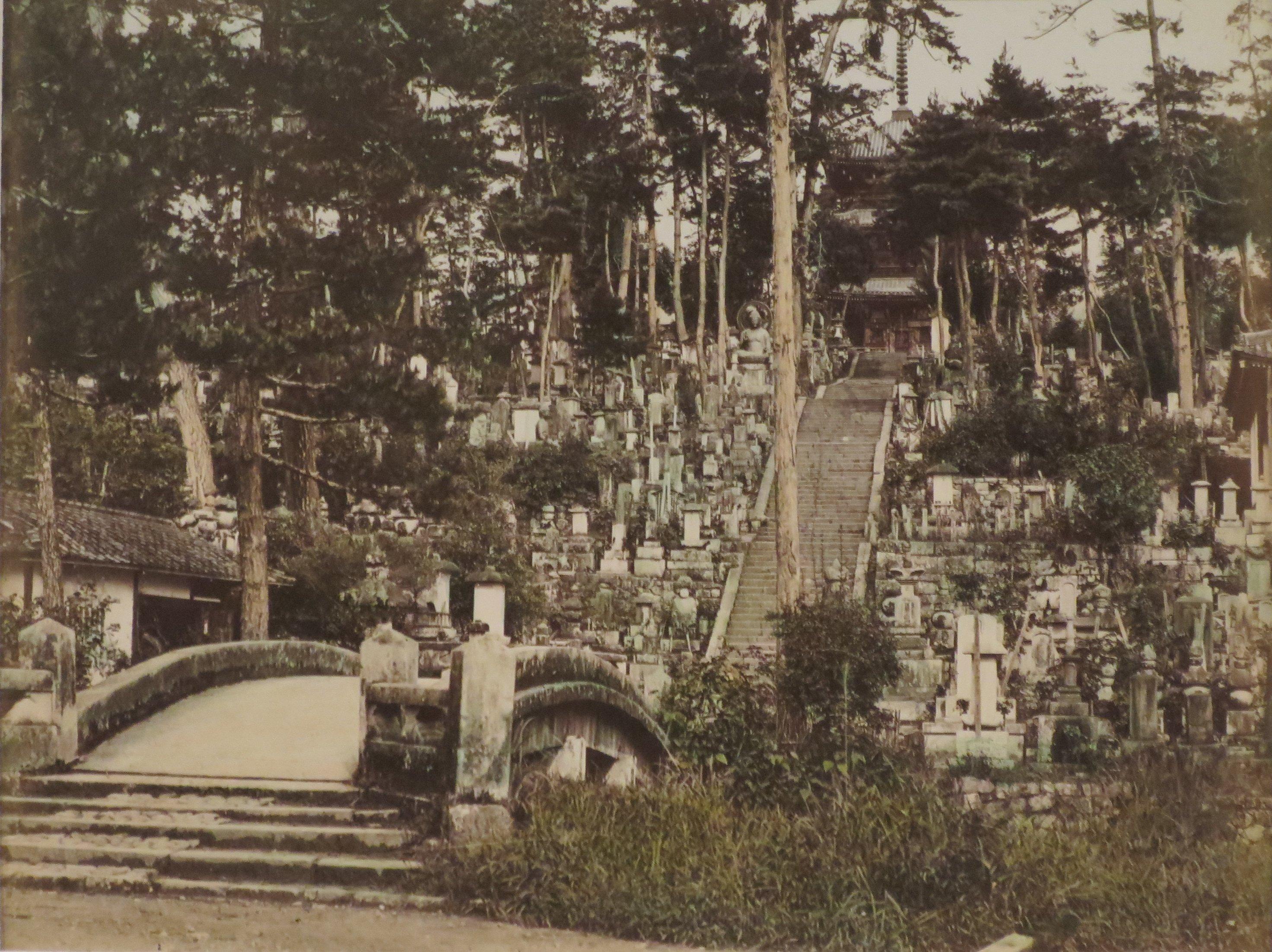 Киото. Кладбище