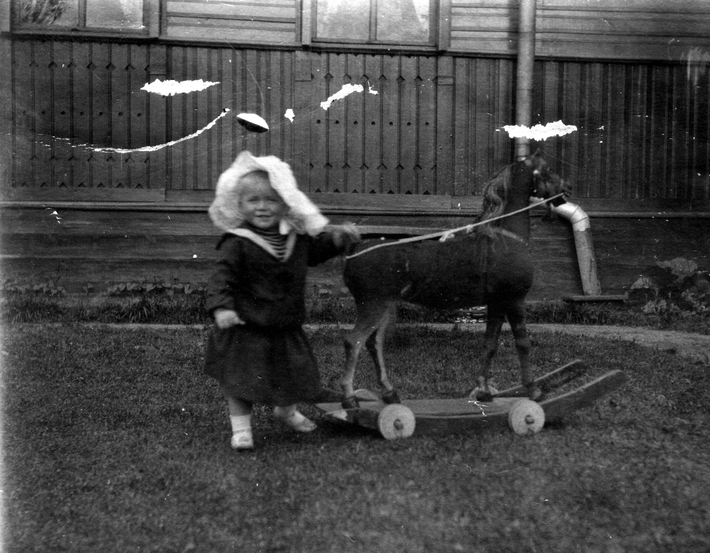 09. Редж с лошадью-качалкой