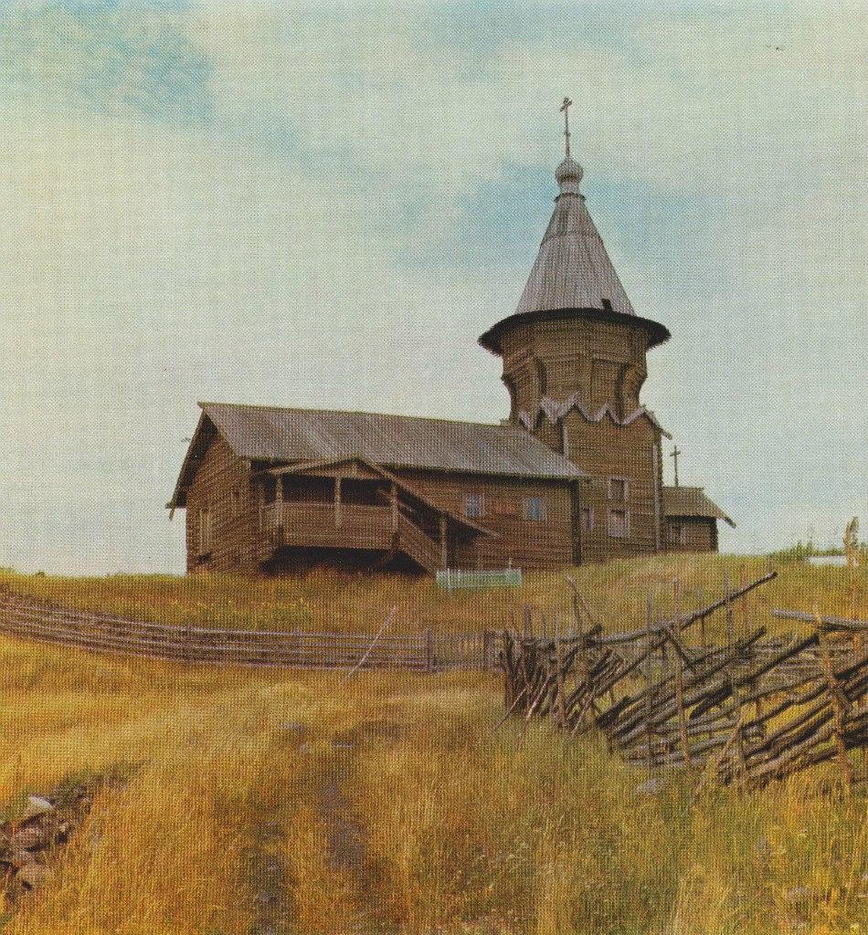 Петропавловский храм на Лычном Острове (1960-е)