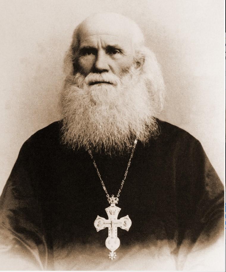Настоятель Данилова монастыря (1901-1904) архимандрит Тихон (Руднев). Фотография 1901
